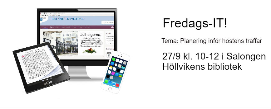 Fredags-IT Höllvikens bibliotek