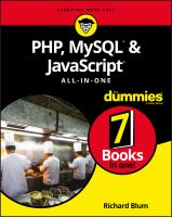 PHP, MySQL & JavaScript all-in-one